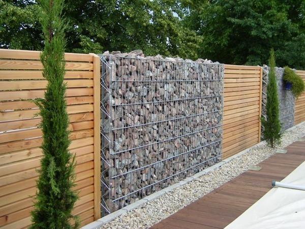 10 idej vrt okraski gabioni
