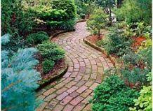 15 lepi vrt poti za vaš vrt