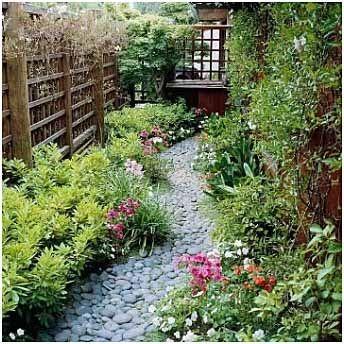 Kreativne ideje za vrtne poti