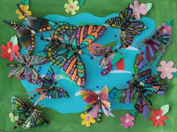Fluturi din sticle de plastic, cu stranamasterov.ru fotografii site-ului