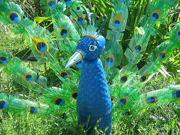 Živali iz plastičnih steklenic, z masterclassy.ru fotografije strani