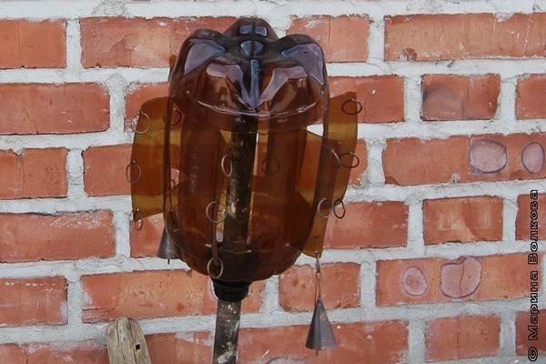 Vjetrokaz iz plastične steklenice z mv74.ru mestu foto