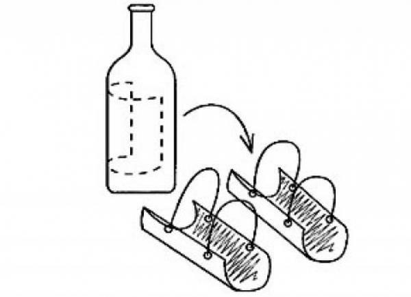 ščitniki za kolena za vrt steklenic, z garden-pictures.kokopics.ru fotografije strani
