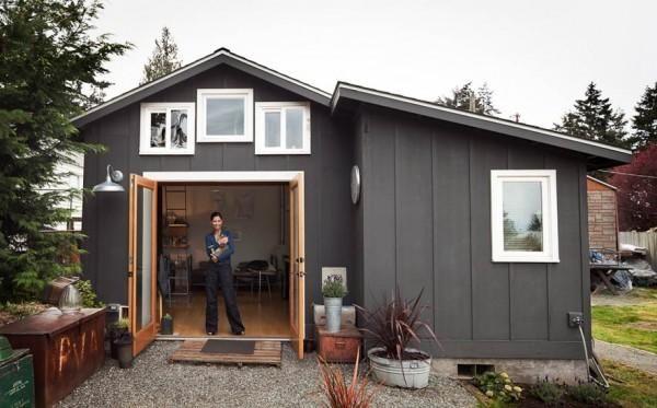 Hiša, garaža