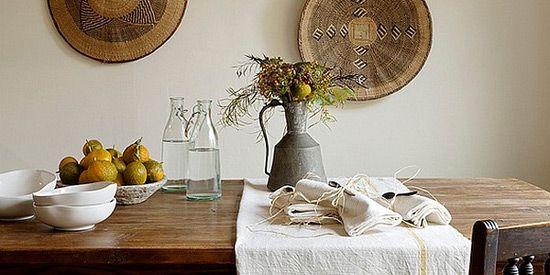 Leseno pohištvo v afriškem slogu