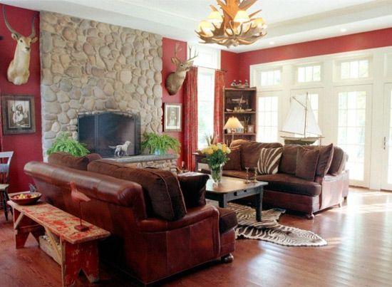 Usnjeno pohištvo v afriškem slogu