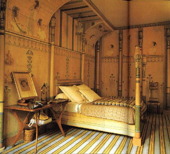 Egipčanski slog v notranjosti