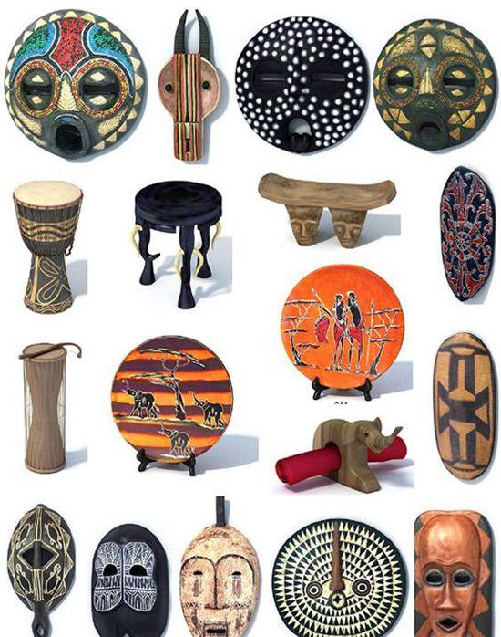 Dekor v afriškem slogu