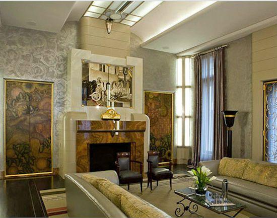 Art Deco notranjost
