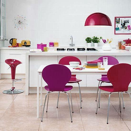 Svetla, barvita, Sodobna kuhinja-Dekoraterstvo