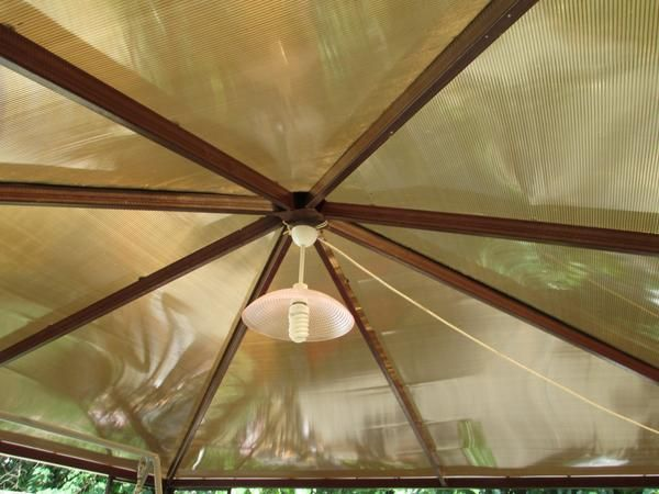 arbor acoperiș (vedere de jos)