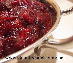 Красный ягодный соус к мясу и индейке