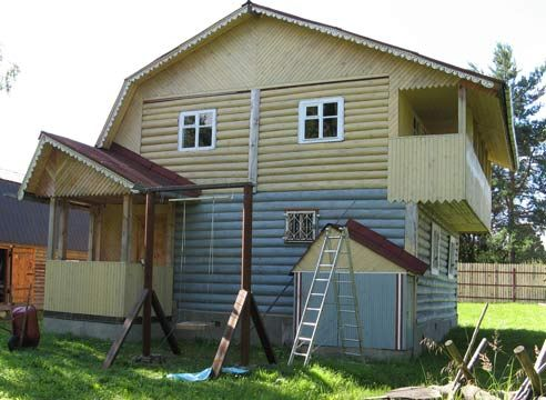 Hiša, lesena hiša