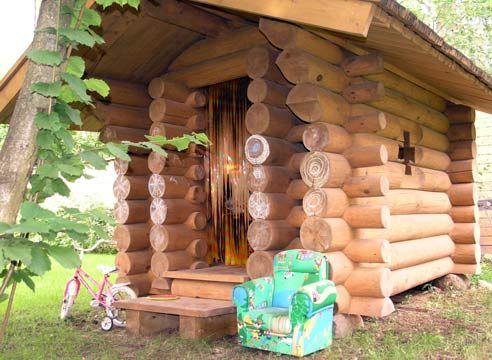Hiša Otroška, lesen okvir