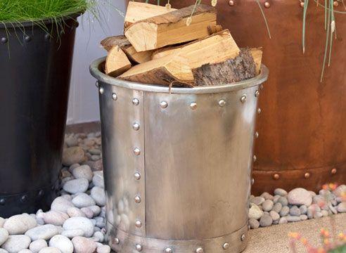 Les za kurjavo v vedro