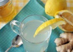 Чай с имбирем, лимоном и натуральным медом для похудения