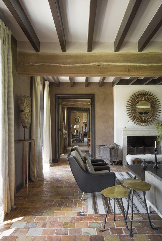 Notranjost hiše v Franciji