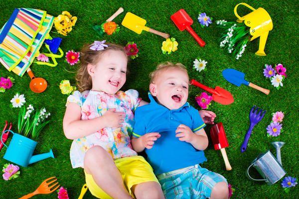 Kada je zemlja čuju sretan smijeh djece - to je u redu!