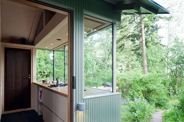 Hiša v gozdu: pravila dobre notranjosti