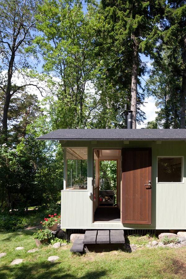 Casă la țară în pădure: regulile de interior bună