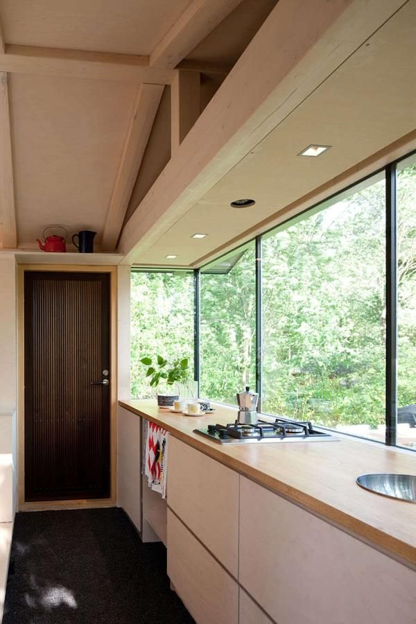 în stilul de bucătărie minimalismul
