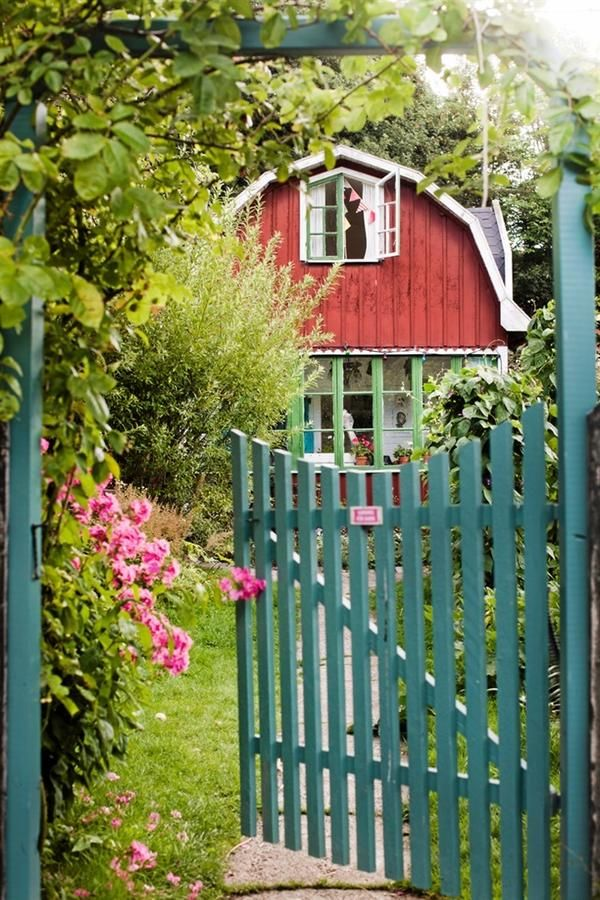 Hiša v švedski pokrajini