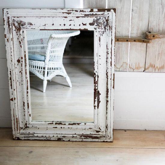 Vintage ogledalo Decoupage tehnika