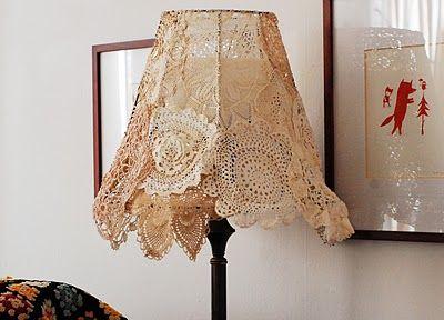 Abažur luč v starinskem stilu
