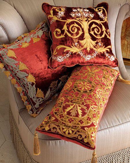 Dekorativne blazine v Oriental slogu