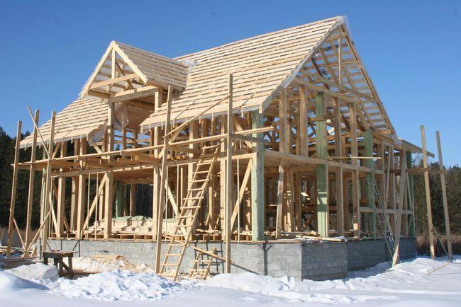 Gradnja okvir domov