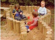 Dječje sandbox sa svojim rukama