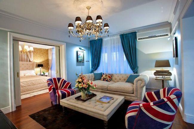 soba design v angleškem slogu