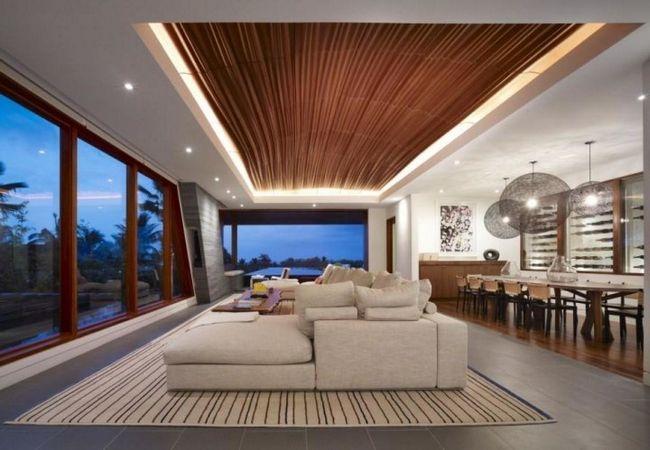 Zasnova dnevne sobe v minimalističnem slogu