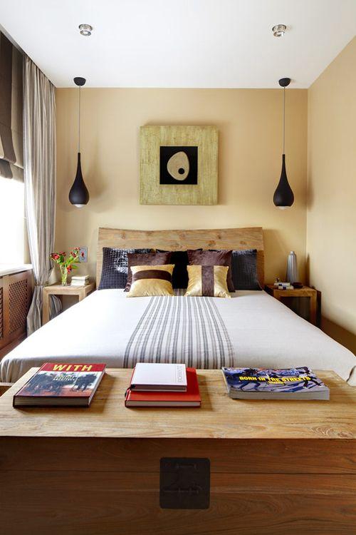 Dekor v majhni spalnici