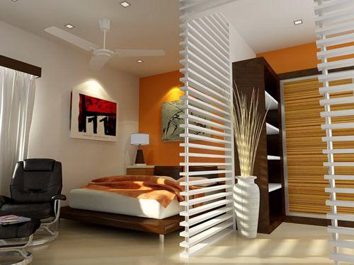 Načrtovanje ozko spalnico