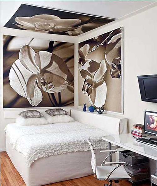 Zasnova ozko spalnico