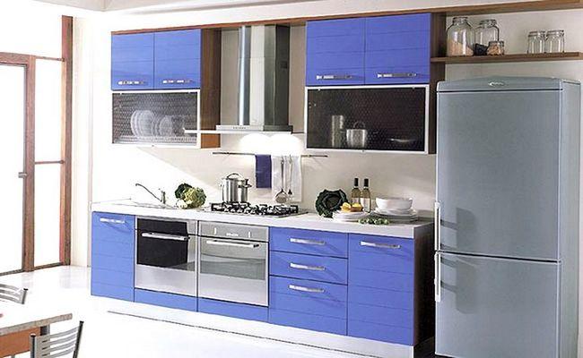Oblikujte majhno kuhinjo v Hruščov