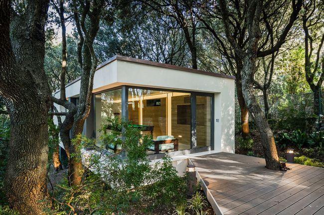 hiša v gozdu sassari1