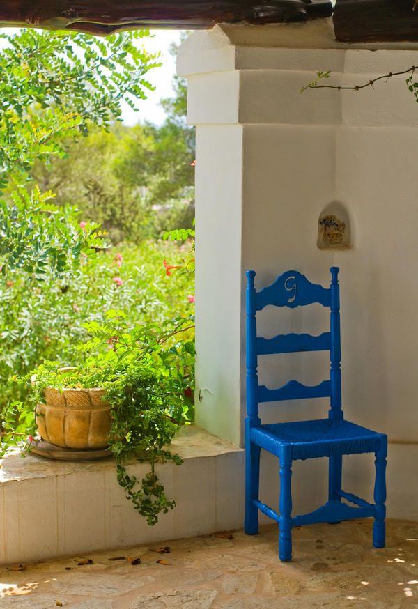 Bright stol na terasi