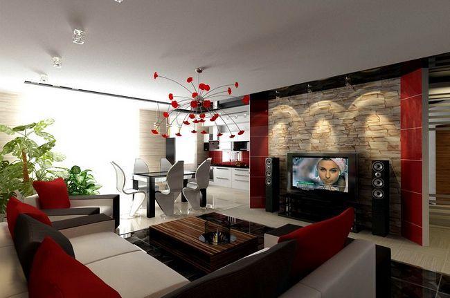 Zasnova Foto dnevna soba