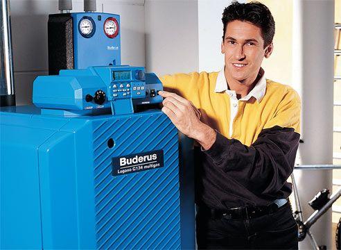 Avtomatski kotel plin