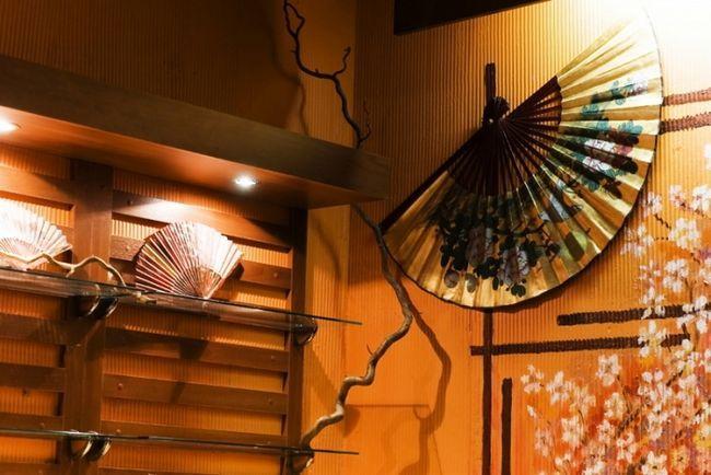 Dodatna oprema v japonski dnevni sobi