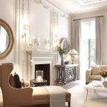 dnevna soba v klasičnem slogu Foto 30