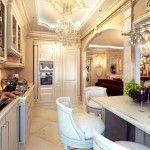 dnevna soba v klasičnem slogu slika 20