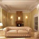 dnevna soba v klasičnem slogu Foto 19