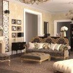 dnevna soba v klasičnem slogu slika 17
