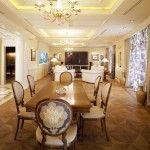 dnevna soba v klasičnem slogu slika 16