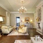 dnevna soba v klasičnem slogu slika 11