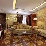 dnevna soba v klasičnem slogu Fotografija 10