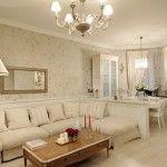 dnevna soba v klasičnem slogu fotografiji 9